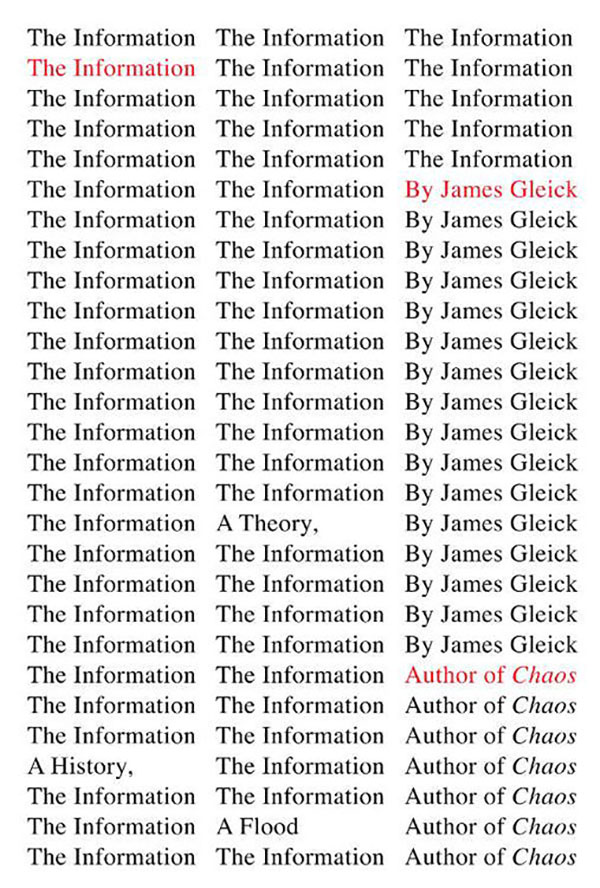 The Information: A History, A Theory, A Flood book cover